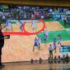 Defensa de Boston Celtics.